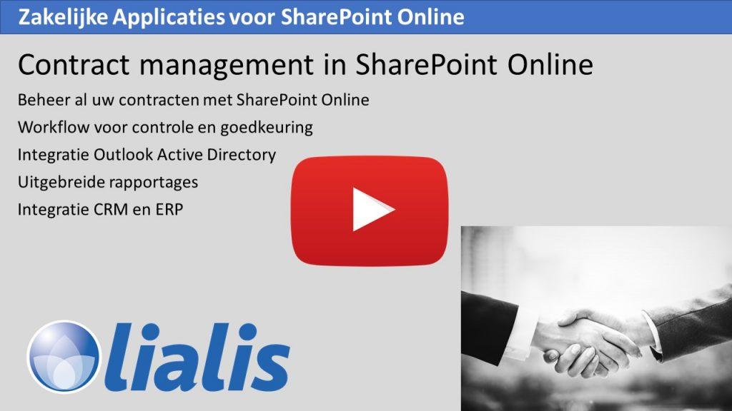 Shareflex Contract Beheer applicatie
