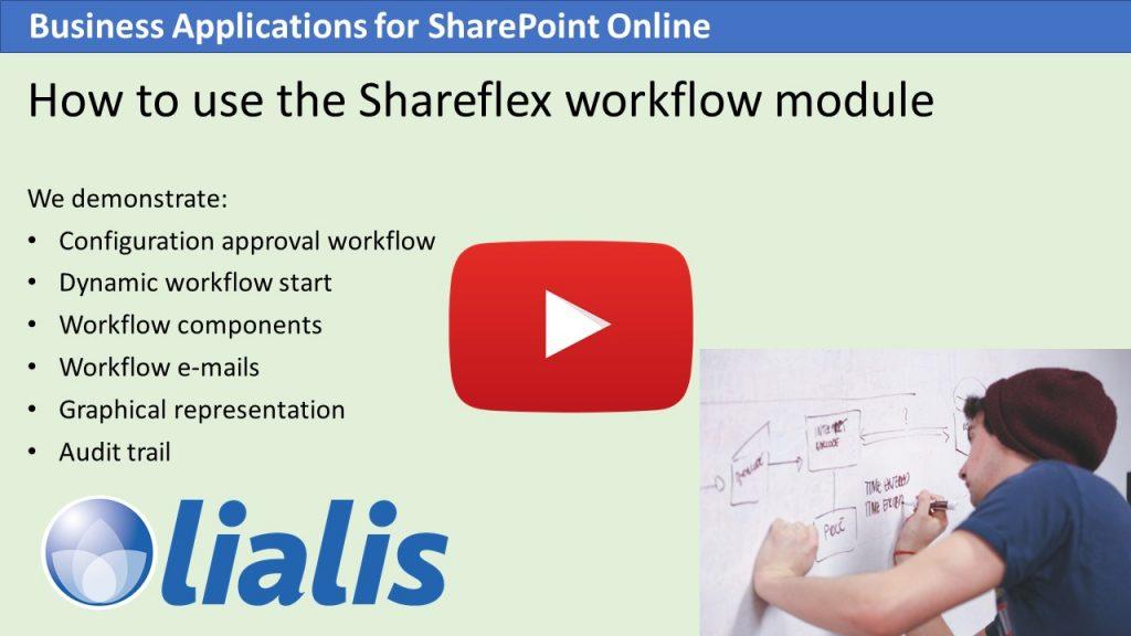 Shareflex workflow module
