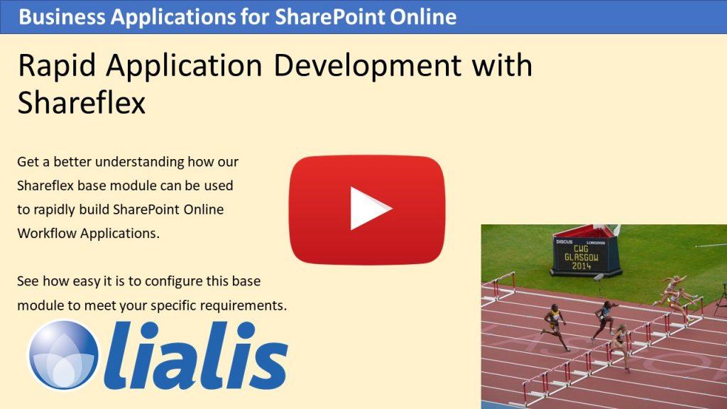 Rapid app development with Shareflex