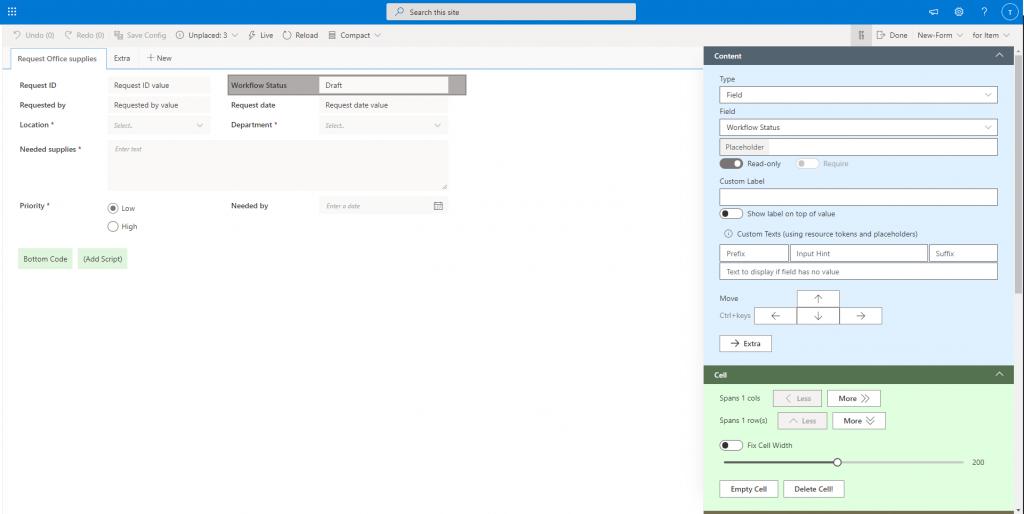 SharePoint Automation: Shareflex forms